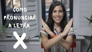 Baixar How to pronounce the letter X in Portuguese | Speaking Brazilian