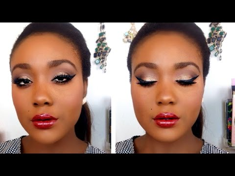 Fall Makeup Tutorial Using ALL DRUGSTORE Makeup for DARK Skin 2015 ...