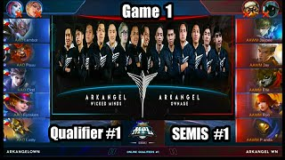 Game1 AA Wicked Minds VS AA Ownage MPL-PH S2 (Qualifier 1 Semifinals 1) Best of 3