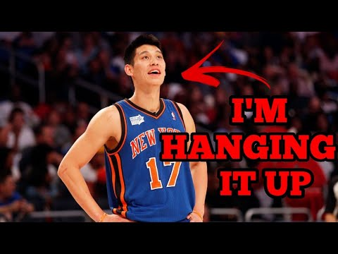 Jeremy Lin appears to announce his retirement from the NBA