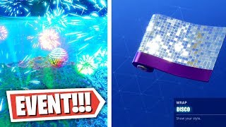 Fortnite New Years Event + Free Weapon Skin! (Fortnite: Battle Royale New Years Event!)
