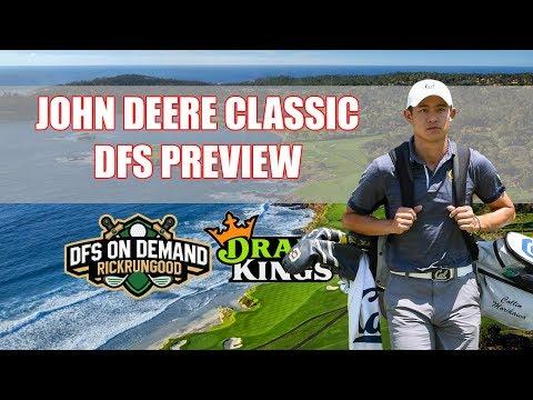 John Deere Classic Preview & Picks 2019 - DraftKings