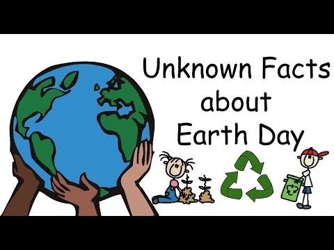 What is Earth Day Celebration 2018? 10 Important Facts and History | Animated Explanation Video