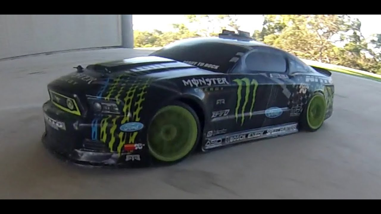 Hpi Racing Drift Mustang Monster Rtr Ep Youtube