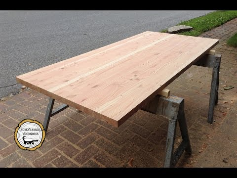 Woodworking : DIY Butcher Block Style Counter-tops // How-To