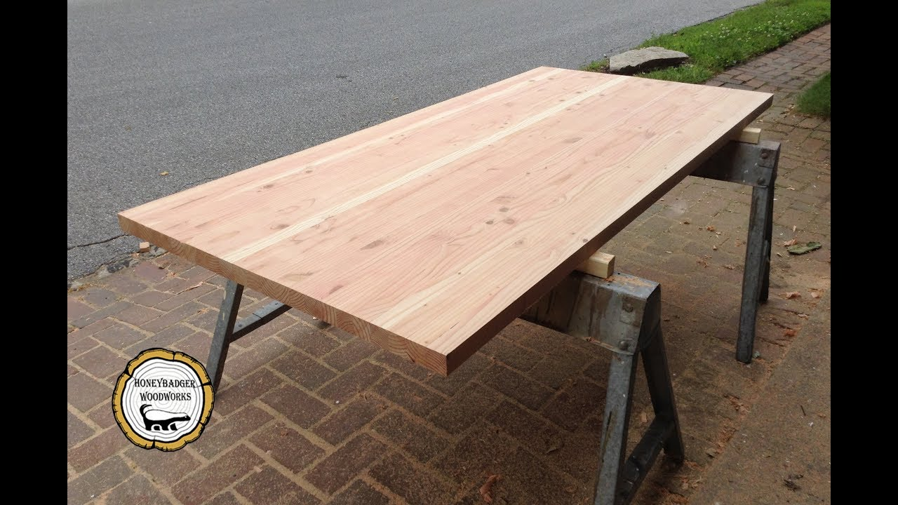 Diy Butcher Block Style Counter Tops