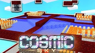 OUR *NEW* AUTOMATIC ZOMBIE GRINDER! | COSMIC SKY S3 #17 (Minecraft SKYBLOCK)