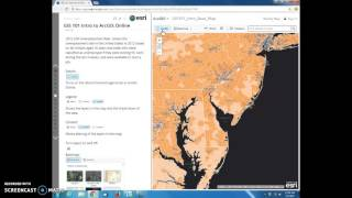 GIS 101 Introduction to ArcGIS Online - Video 2 of 4