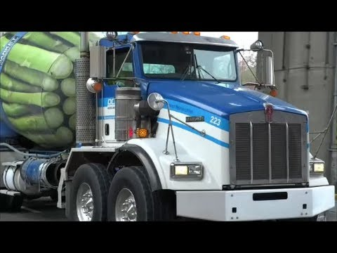 Twin-Steer Axle Cement Mixer Trucks: Ocean Concrete