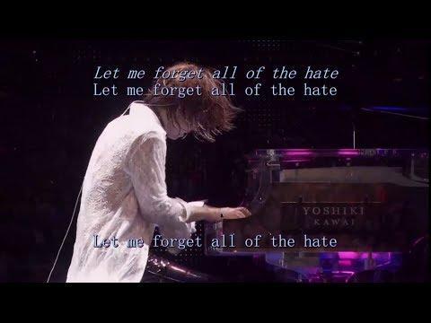 X Japan - Endless rain - Live show English translation