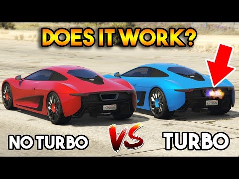 GTA 5 ONLINE : TURBO VS WITHOUT TURBO (DOES IT WORK?)