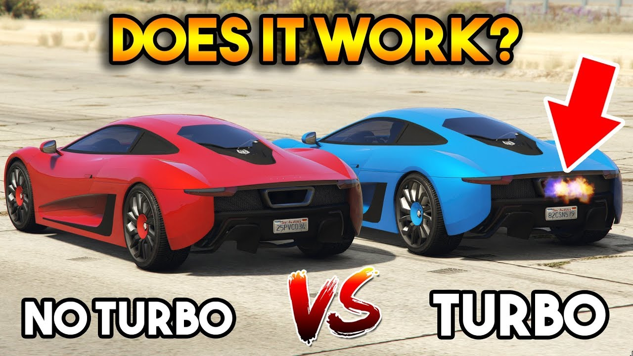 GTA 5 ONLINE : TURBO VS WITHOUT TURBO (DOES IT WORK?) - YouTube