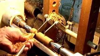 Wood Turning A Hand Turned Shaker Peg