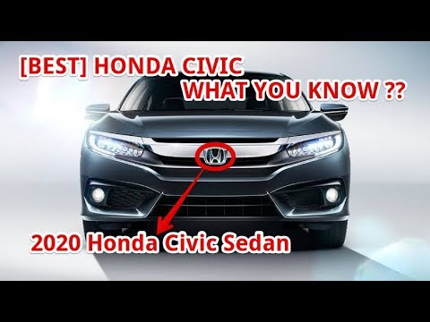 Best 2020 Honda Civic Sedan Youtube