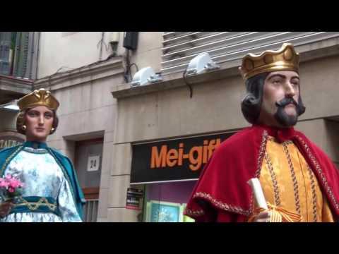 """Festes de Sant Josep Oriol 2015 - """" Cercavila de gegants al carrer de Ferran """""""