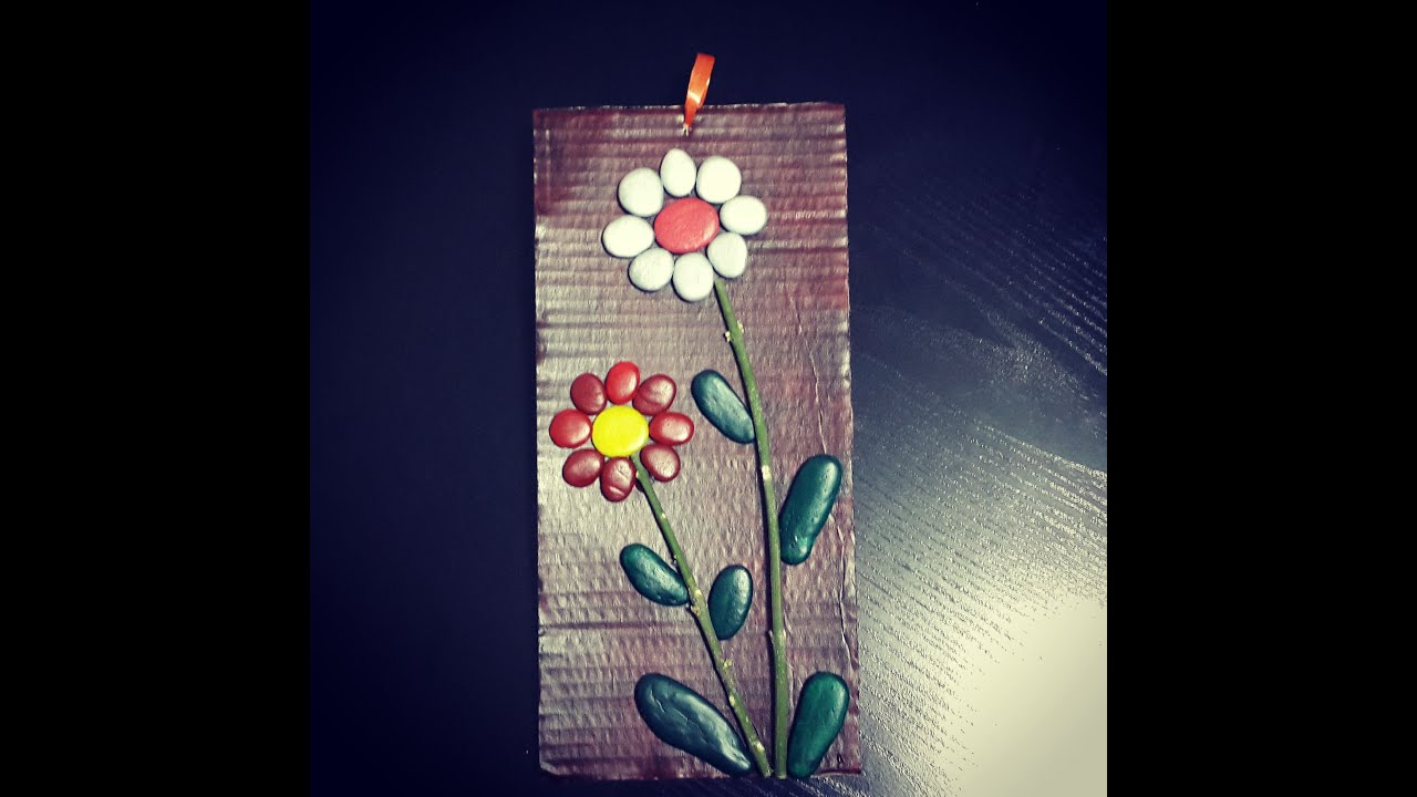 taş boyama, tablo yapımı - diy - stone art - youtube