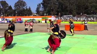 Khasi warrior dance