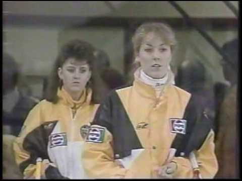 Canada Jr Womens Curling Championship 1991 - part 1- Jennifer Jones