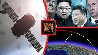 Rússia e China podem danificar os satélites dos Estados Unidos em caso de guerra declarada.