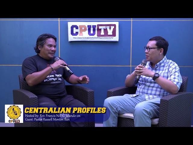 Centralian Profiles -  Pastor Russell Ban
