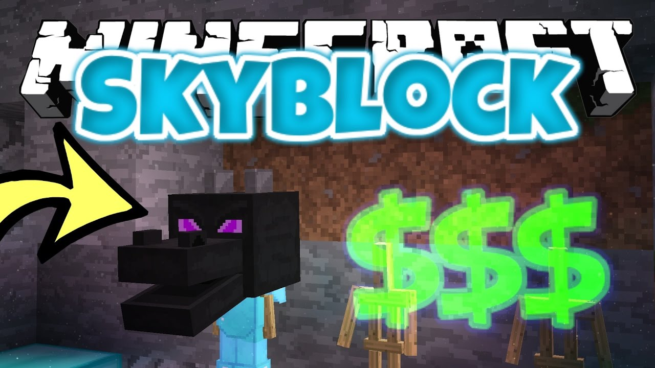 stealing a 150 million dragon head expensive minecraft skyblock s3 12 youtube. Black Bedroom Furniture Sets. Home Design Ideas