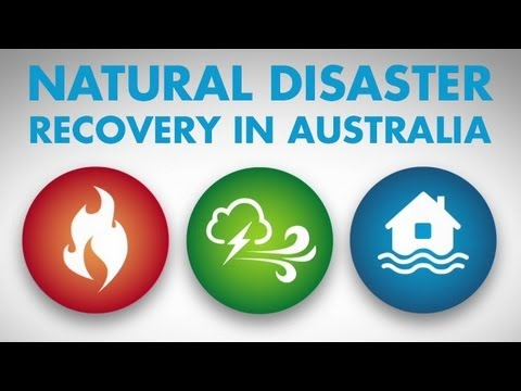Natural Disaster Recovery in Australia - Regional Australia Institute