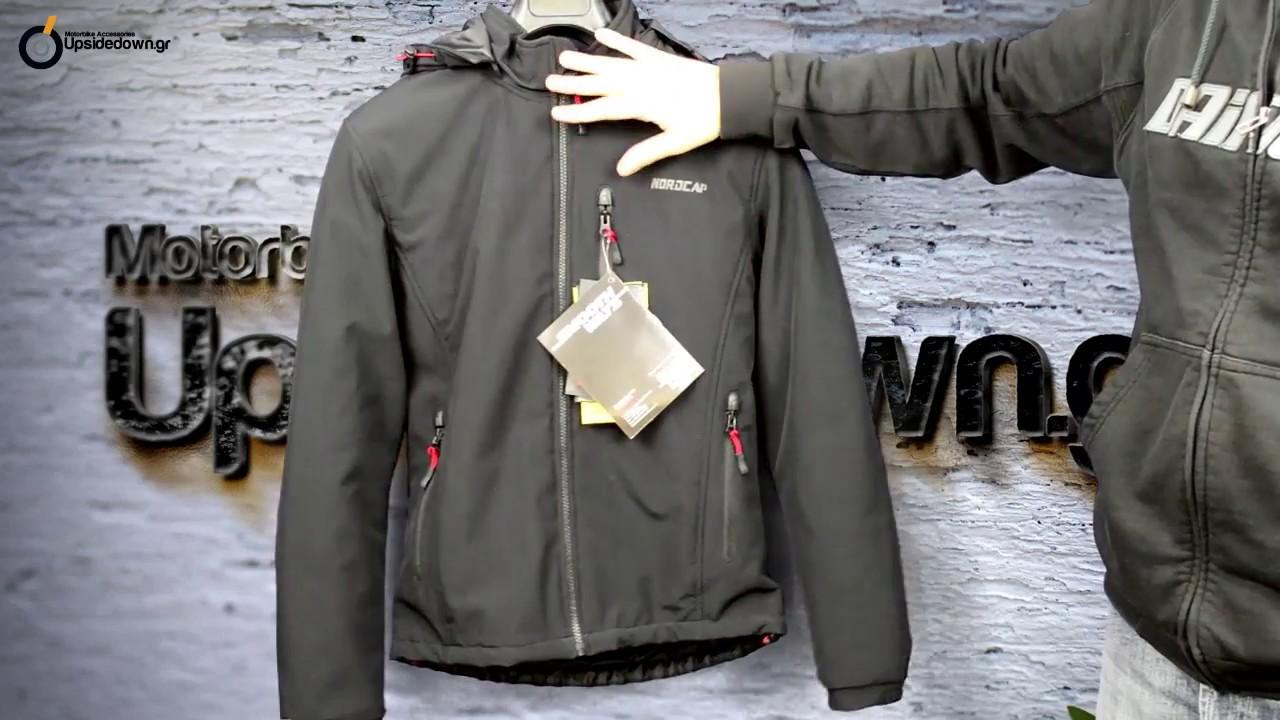 Χειμερινό μπουφάν μηχανής Nordcap Citizen - YouTube 36d2cb5f873