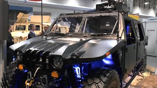 AUSA 2015: Northrop Grumman release their new Hellhound vehicle