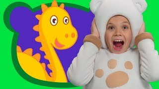 ДИНОЗАВР - Три Медведя - Dinosaur T-Rex Песня мультфильм про ледниковый период - Three Bears Song