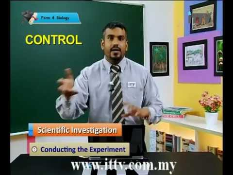 iTTV SPM Form 4 Biology Chapter 1 The Study of Biology -Tuition/Lesson/Exam/Tips
