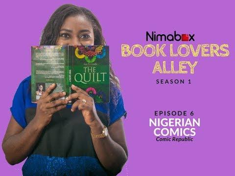 BOOK LOVERS ALLEY S1 E6- NIGERIAN COMICS