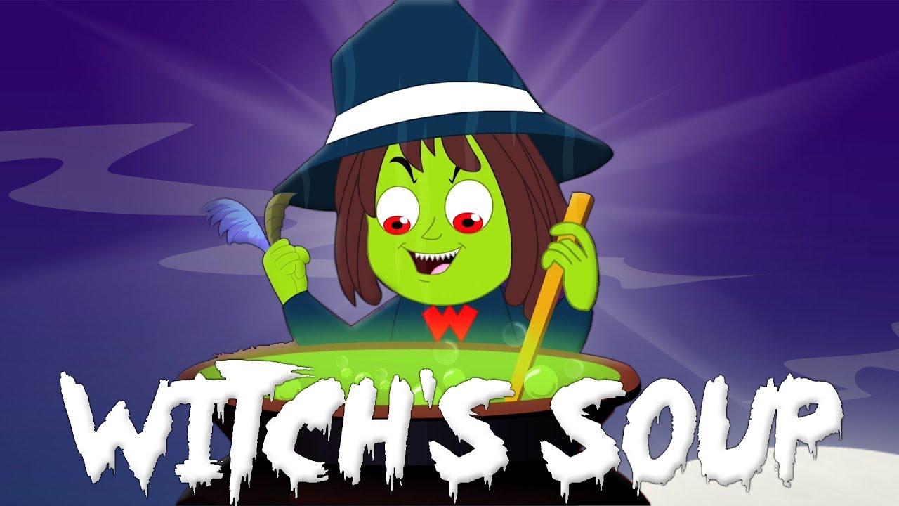 Bruxa Sopa Desenho Animado Desenho Infantil Video Para Criancas