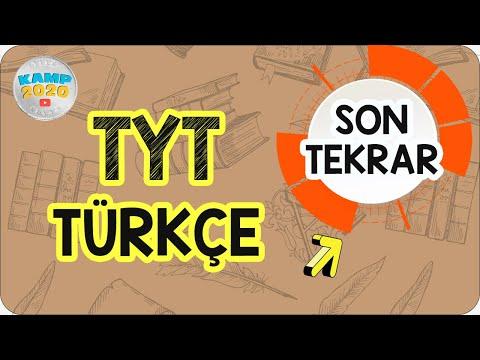 TYT Türkçe  Tekrar | Son Tekrar Kampı 2020