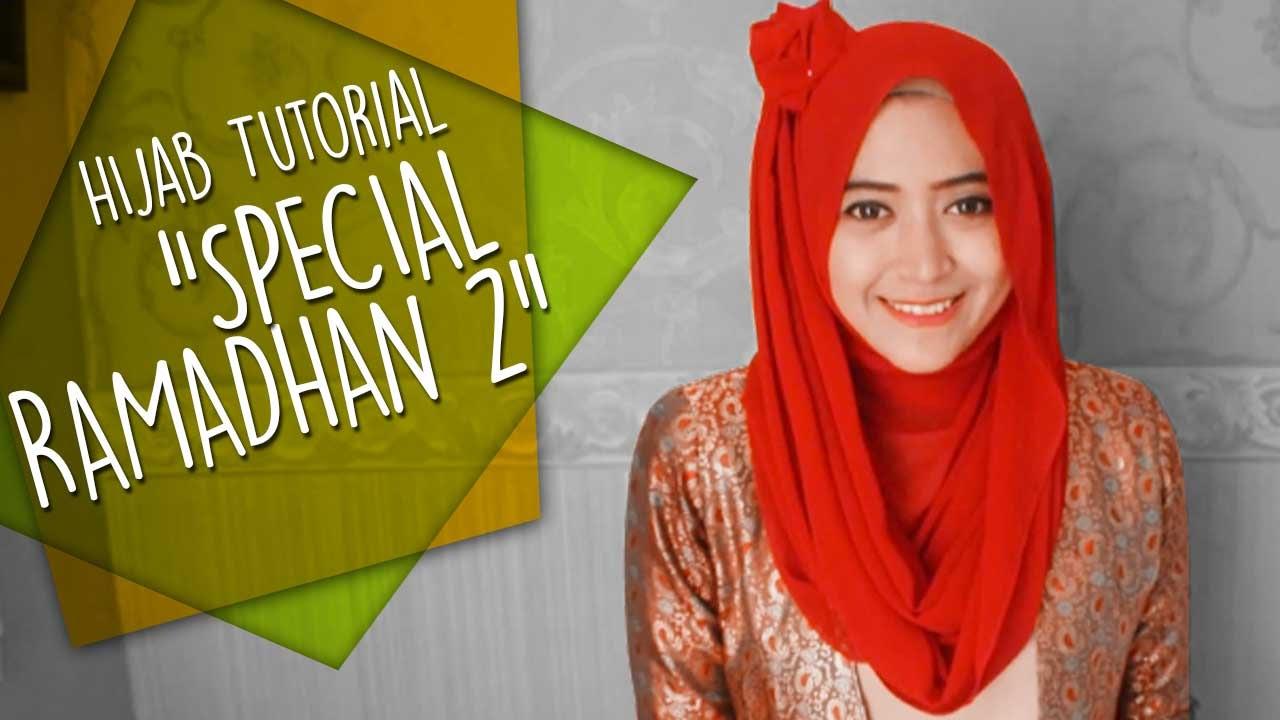 Natasha Farani Hijab Tutorial Special Ramadhan 2 YouTube