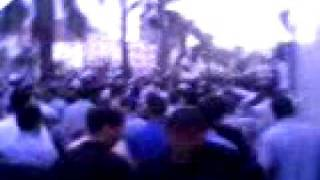 Maroc Tanger 3 juillet marches تسونامي طنجة