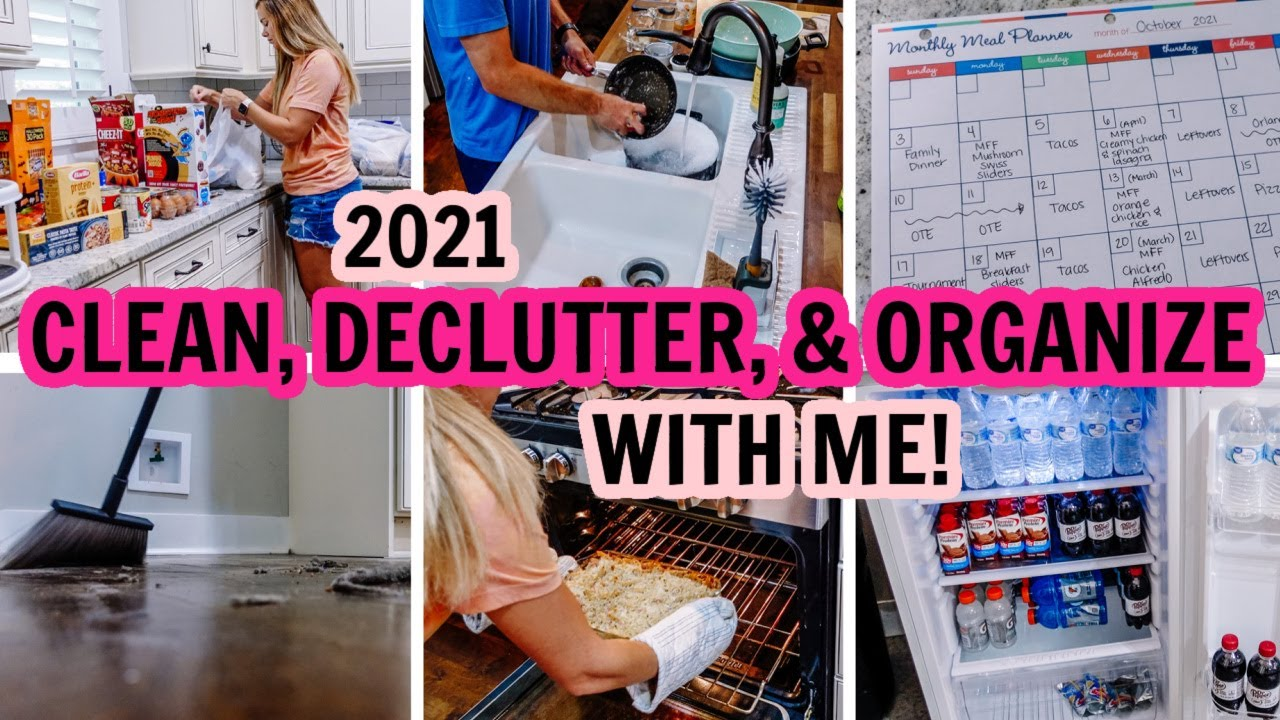 EXTREME CLEAN, DECLUTTER, & ORGANIZE WITH ME! | EXTREME CLEANING MOTIVATION | Amy Darley