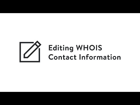 Media Temple - Editing WHOIS Contact Information