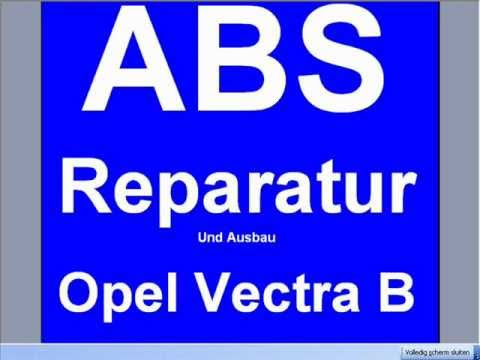 ausbau reparatur abs opel vectra b pumpe steuergeraet. Black Bedroom Furniture Sets. Home Design Ideas