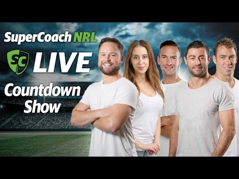 SuperCoach NRL Live Countdown Show