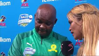 Telkom Knockout | Final | Maritzburg United v Sundowns | Post-match interview with Pitso Mosimane