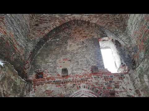Ушаково замок Бранденбург и часовня.