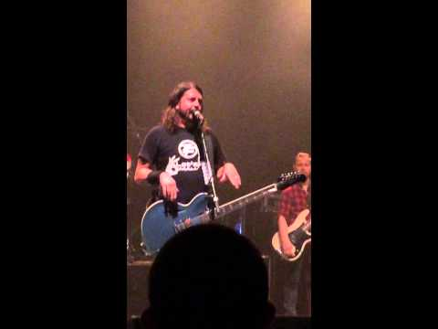 Dave Grohl talks about GWAR, The National, Richmond, VA Foo Fighters crowd-funding show  9.17.14