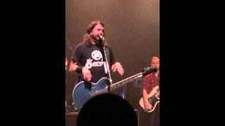 dave grohl talks about gwar the national richmond va foo fighters crowd funding show 91714