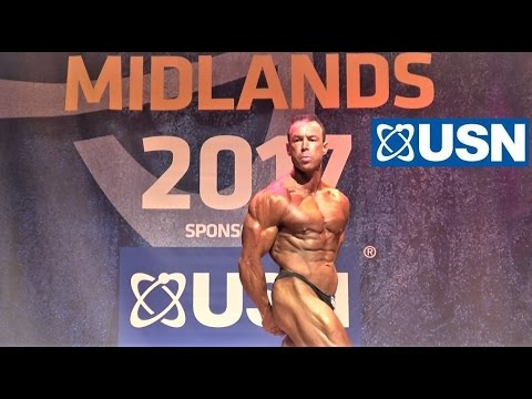 Martin Poole, USN NABBA UK Midlands 2017 - First Timers Winner