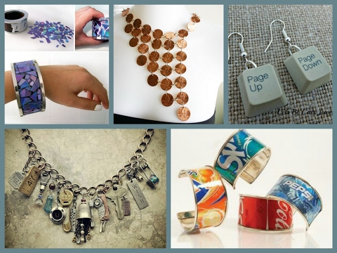 Recycled Jewelry Ideas - Cheap and Easy DIY Jewelry Making Inspiration