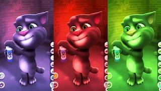 Learn Colors with My Talking Tom Colours for Kids Animation Education Cartoon Compilation 6