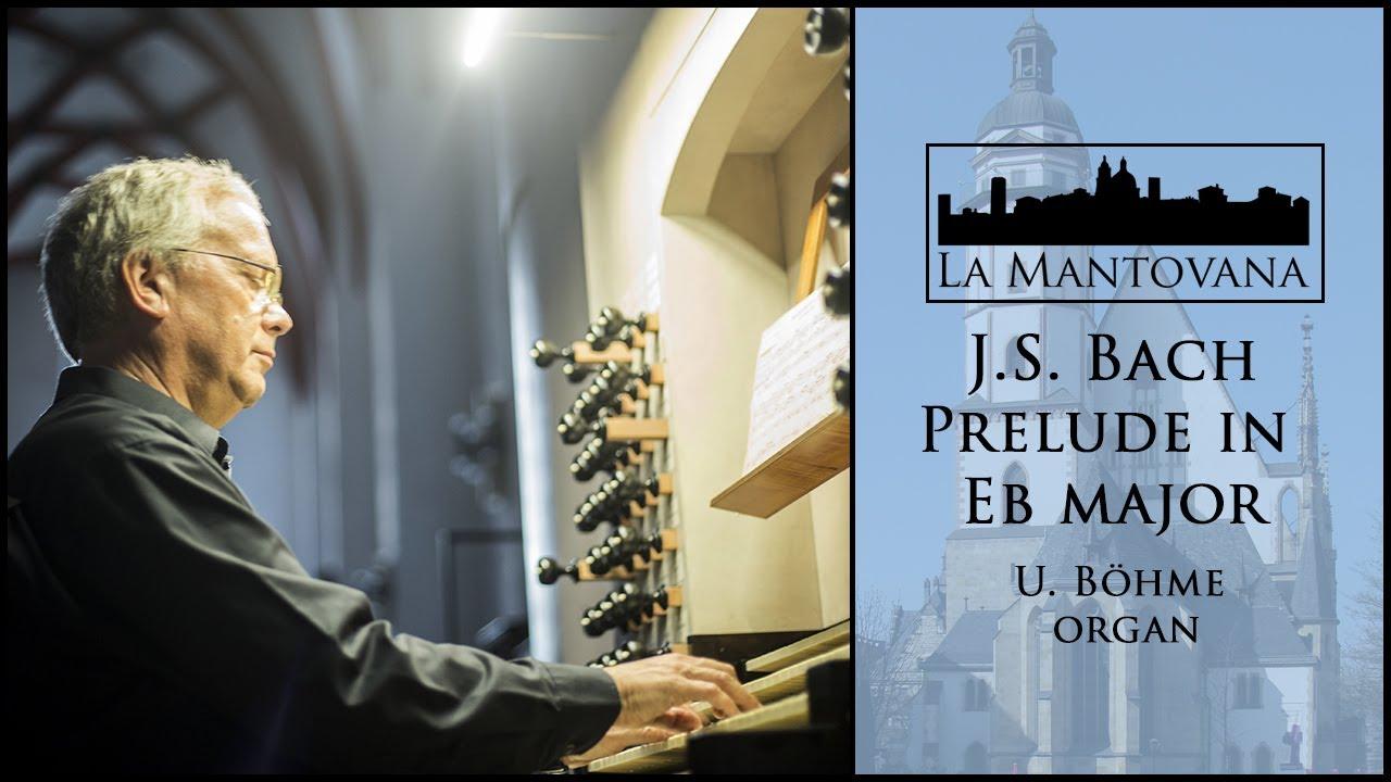 Thomaskirche organ, Böhme plays Bach Praeludium in Es-dur BWV 552