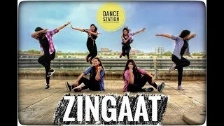 Zingaat | Dhadak | Dance Fitness | Dance Station| Choreography by Rajveer Rathore