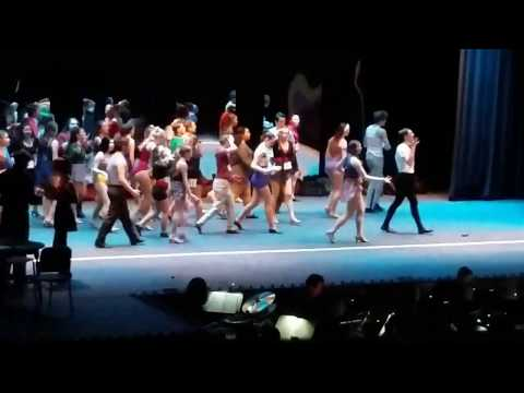 Frontier HS 2018 musical A Chorus Line full show. (Night 2)