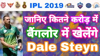 IPL 2019 Dale Steyn Price & Value Revealed For Vivo IPL To Play In RCB | My Cricket Production